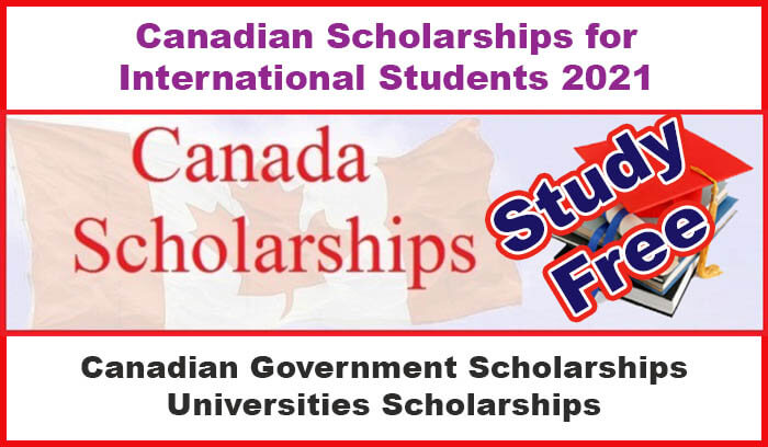 Canadian Scholarships for International Students 2021 - W3 ...