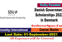 Danish Government Scholarships 2022 in Denmark