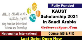 King Abdullah University Scholarship 2021 in Saudi Arabia [Fully Funded]