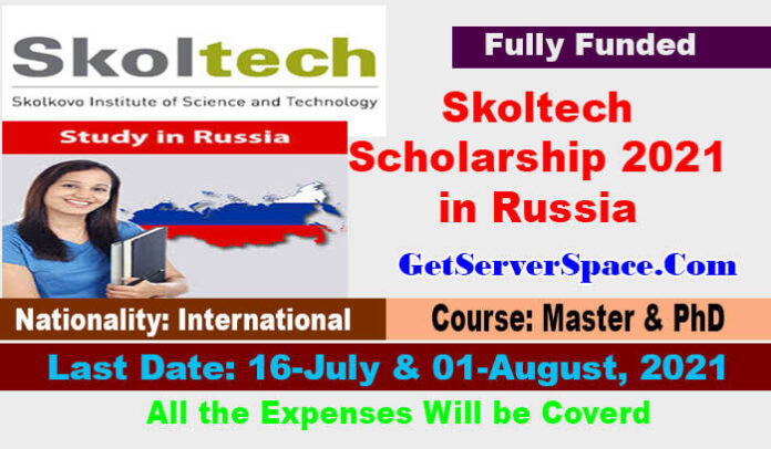 Skoltech International Scholarship 2021 in Russia [Fully Funded]